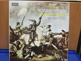 LP007 - COFANETTO 3 LP + LIBRETTO - I PURITANI - - Oper & Operette