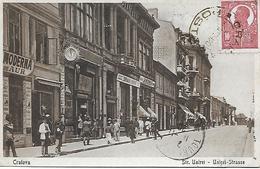 ROUMANIE -  1910 -  CRAIOVA  - STR.UNIREI- STRASSE- EN L ETAT LEGER PLI BAS DROIT - Roemenië