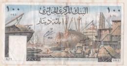 Billet 100 Dinars 01 – 01 - 1964, Alphabet : L.71 N° 085 - Algeria