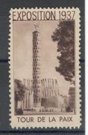 12052 - EXPOSITION  1937 PARIS - Erinnophilie