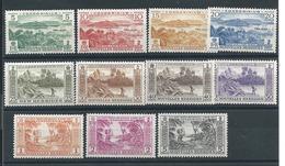 Nouvelle Hébrides N°175:185  T * T.b - Unused Stamps