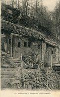 HARTMANNSWILLER - Abri Rustique Au Sommet Du Vieil Armand Soldat écrit Cachet Cantine Chasseurs Alpins - France