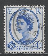 Great Britain 1955. Scott #323 (U) Queen Elizabeth II - 1952-.... (Elizabeth II)