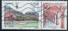 Yt 5055 Paris Place Des Vosges 89eme Congres De La Federation Des Associations Philateliques--cachet Rond - France