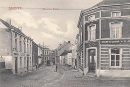 Seneffe - Rue De La Station - Très Belle Carte Animée Rare - état Voir Scan. - Seneffe