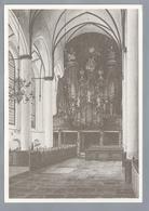 NL.- ELBURG. GROTE OF ST. NICOLAASKERK. Ned. Herv. Gemeente. Aquarel In Sepia Van Johan Grabijn, Zwolle - Kerken En Kathedralen