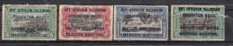 Ruanda  Est African Allemand  4 Valeurs - 1916-22: Mint/hinged