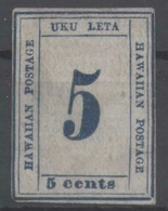 HAWAII 1865  - Sc.21 (Yv.19, Mi.16)  Neuf Sans Gomme - Hawaï