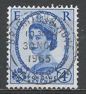 Great Britain 1958. Scott #359 (U) Queen Elizabeth II. 30/11/1965 - Oblitérés