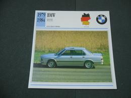 CARTOLINA CARD SCHEDA TECNICA  AUTO  CARS  BMW M 535 I - Altri