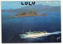 DEPT 20-2A : édit. Yvon : Ajaccio Les îles Sanguinaires Vu Du Ciel Par Alain Perceval - Ajaccio