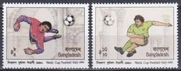 Bangladesch Bangladesh 1990 Sport Fußball Football Soccer Italien Italy WM, Mi. 332-3 ** - Bangladesch