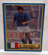 TOP MICRO CARDS 1989  ALESSANDRO COSTACURTA - Trading Cards