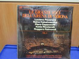 LP012 - LE GRANDI VOCI DELL'ARENA DI VERONA -VOL. 2- LUCIANO PAVAROTTI-RAINA KABAIWANSKA- KATIA RICCIARELLI- - Opera