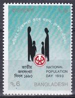 Bangladesch Bangladesh 1990 Gesellschaft Society Demographie Demography Familie Family, Mi. 322 ** - Bangladesch