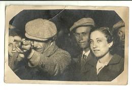 """2105 """" FOTO DA TIRO A SEGNO-GIAVENO,FESTA DI S. LORENZO-10 AGOSTO 1938 """" FOTO ORIGINALE - Persone Identificate"""