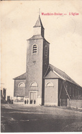 Wauthier-Braine - L' Eglise - Très Belle Carte Animée Rare - état Voir Scan. - Kasteelbrakel