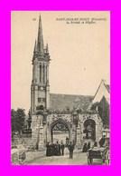 Saint Jean Du Doigt * Le Portail Et L'eglise    ( Scan Recto Et Verso ) - Saint-Jean-du-Doigt