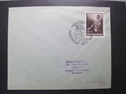 DR Nr. 701, 1939, Brief, EF, Sonderstempel München *DEL2116* - Briefe U. Dokumente