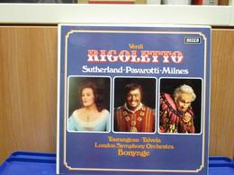 LP015 - COFANETTO 3 LP + LIBRETTO - RIGOLETTO - - Opera