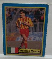 TOP MICRO CARDS 1989  FRANCESCO MORIERO - Trading Cards