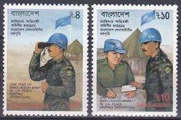 Bangladesch Bangladesh 1989 Organisationen UNO ONU Friedentstruppen Soldaten Militär Military, Mi. 315-6 ** - Bangladesch