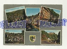 Gruss Aus Monschau. Montjoie. Maisons Rouges. 5 Vues De La Ville. Muva.  Ecusson - Souvenir De...