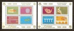 Cept 2005 Serbie Et Montenegro Yvertn° Bloc 60 Et 61 *** MNH Cote 18 Euro - Europa-CEPT