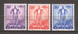 Switzerland 1936 Mi 294-296 MNH - Suisse