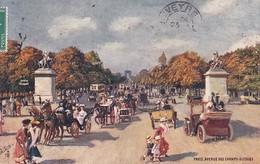 OILETTE  PARIS  Série 111  N°78  ........... Avenue Des Champs Élysées ....... Un Mot à La Poste - Tuck, Raphael