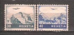 Switzerland 1948 Mi 506-507 MH - Switzerland