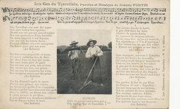 Les Gars Du Tçarollais Charollais Charolles Chanson Joanny Furtin  Faux Moisson Fenaison - Cultures