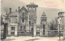 POSTAL    ARLES SUR TECH  -FRANCIA  - LA VILLA DU DIRECTEUR DES MINES BATÈRES - Francia