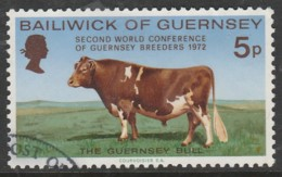 Guernsey1972 World Conference Of Guernsey Breeders 5 P Multicoloured SW 59 O Used - Guernsey
