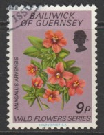 Guernsey 1972 Wild Flowers 9 P Multicoloured SW 63 O Used - Guernsey