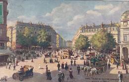 OILETTE  PARIS  Série 110  N°69  ........... Place Du Théatre Français Avenue De L'Opéra  ....... Un Mot à La Poste - Tuck, Raphael