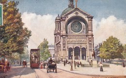 OILETTE  PARIS IIII Série 933 P  N°27  ........... Saint Augustin ........ Un Mot à La Poste - Tuck, Raphael