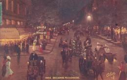 OILETTE  PARIS IX Série 950 P  N°57  ........... Boulevard Poissonnière ........ Un Mot à La Poste - Tuck, Raphael