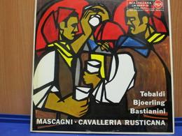 LP016 - COFANETTO 2 LP + LIBRETTO - CAVALLERIA RUSTICANA - - Opera