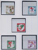 YEMEN ARAB REPUBLIC 1967 Jeux Olympiques GRENOBLE      N° 624 / 628  COTE       9 € 00 - Yémen
