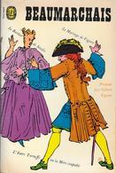 """""""La Trilogie De Figaro""""-BEAUMARCHAIS-Livre De Poche 1966-BE - Théâtre"""
