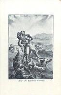 Illustration De La Mort Héroïque De Villebois-Mareuil Lors De La Guerre Des Boers En Afrique Du Sud - Andere Kriege