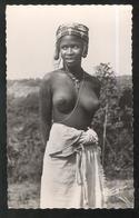 CPSM Coloniale - AEF - Jeune Femme - Circulée - Afrique