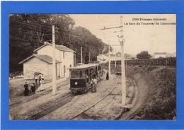 33 GIRONDE - FRONSAC La Gare Du Tramway Du Libournais - France