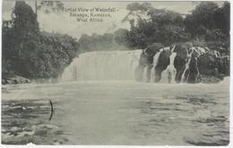 Kamerun Cameroun Batanga Waterfalls Chute De Lobe Viewcard Ca. 1900 - Kameroen
