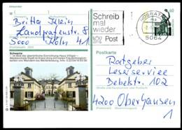 76735) BRD - P 139 - V7/107 - OO Gestempelt - 5840 Schwerte, Haus Villigst - BRD