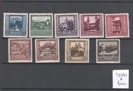 """Österreich 1923: Satz """"Österr.Landeshauptstädte  433/41postfr. Mit Falzspuren(siehe Scan/Foto) - 1918-1945 1st Republic"""