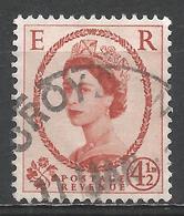 Great Britain 1958. Scott #360 (U) Queen Elizabeth II * - Oblitérés