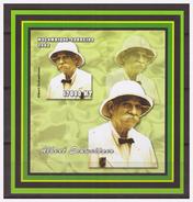 0002 Mozambique 2002 Albert Schweitzer MNH Imperf - Albert Schweitzer