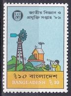 Bangladesch Bangladesh 1989 Wissenschaft Science Technologie Technology Windrad Windmill Pumpe, Mi. 299 ** - Bangladesch
